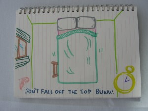 Don't Fall off the Top Bunk!