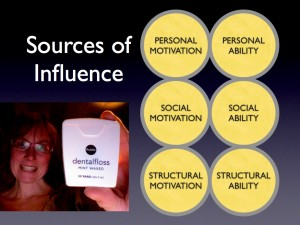 The Mechanics of Change:  Sources of Influence